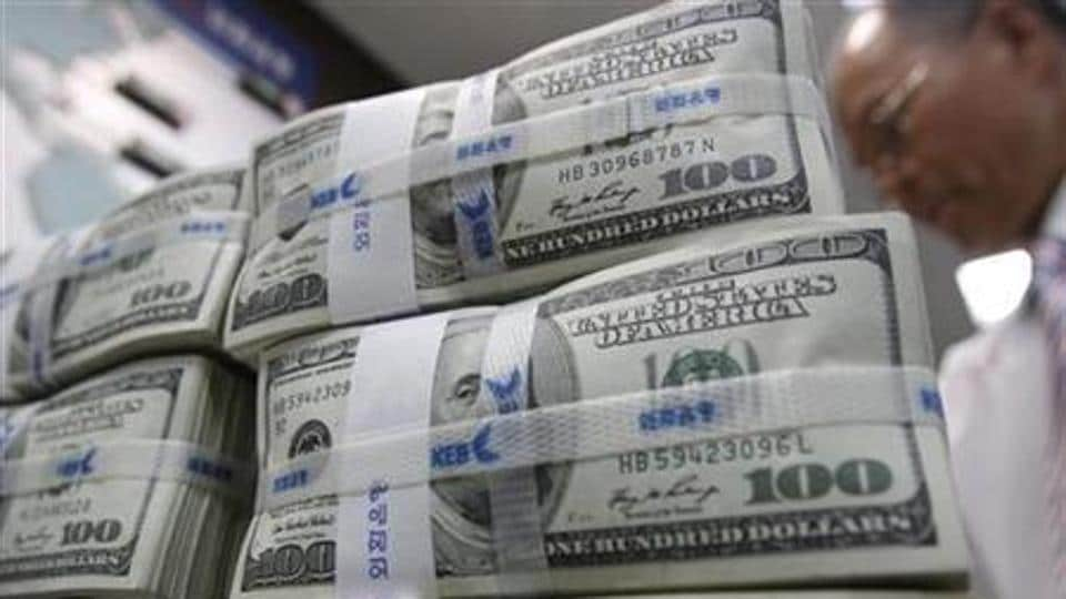 The stolen foreign currency includes pounds, euros, dollars and Indonesian Rupiah.
