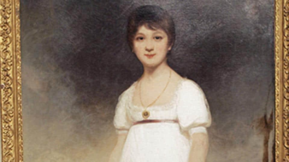 The Rice Portait of Jane Austen.