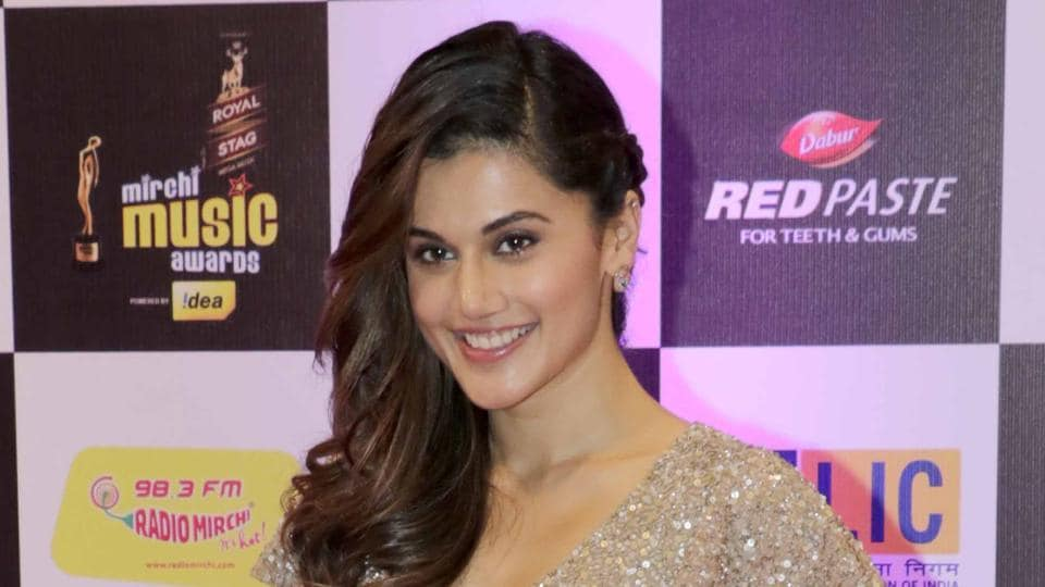 Taapsee says she makes sure she drinks a lot of water and avoid gluten and lactose for her skin and body.