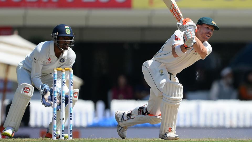 David Warner has ben battling poor form in t he ongoing India vs Australia Test series.