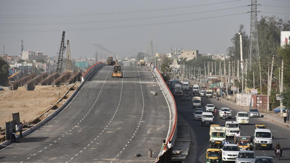 The 1.4km flyover is expected to significantly reduce snarls at the major intersection that witnesses heavy traffic from Jaipur, Pataudi, Manesar and other parts of northern Gurgaon.