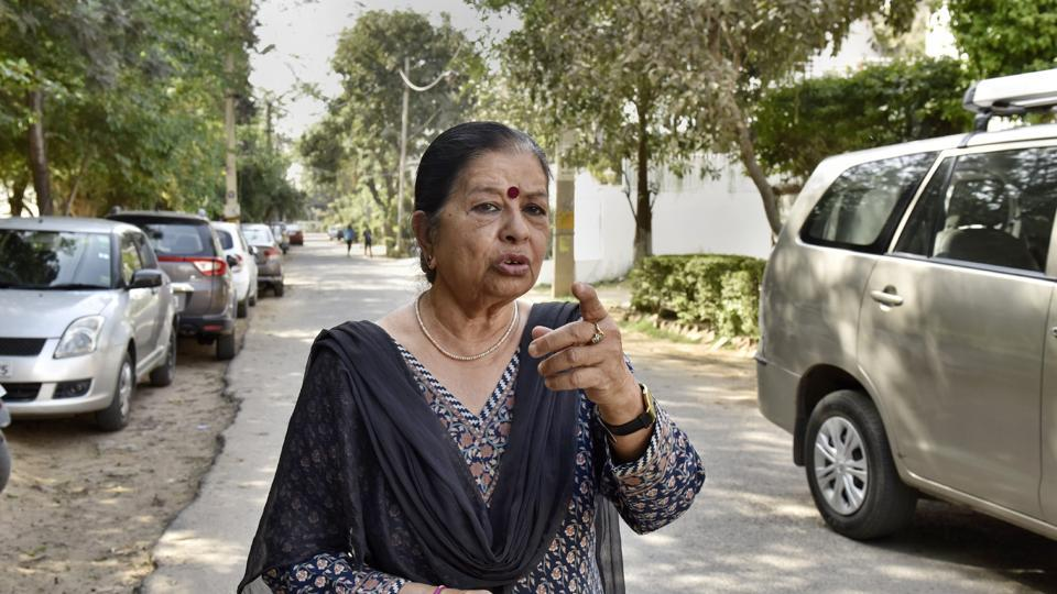 Shashi Mehra, a social worker, was walking on the street near her house around 4pm on Friday when two men stopped her, identified themselves as police and also showed her ID cards.