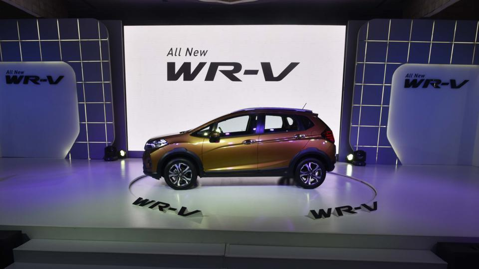 Honda WR-V launched in New Delhi on March 16, 2017.