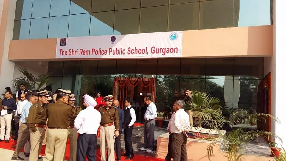 The Shri Ram Foundation had joined hands with the Haryana police to set up the school in Bhondsi in 2011.