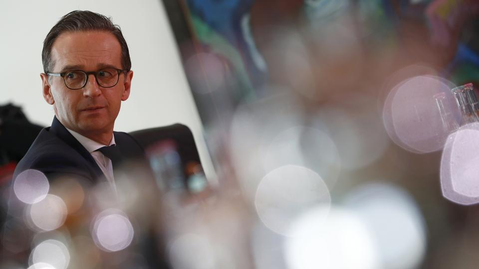 Justice Minister Heiko Maas attends a cabinet meeting in Berlin, Germany, March 22, 2017.