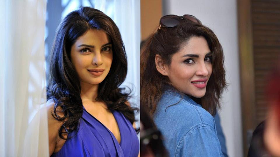 Zhalay Sarhadi is a Pakistani model and is often compared to Priyanka Chopra.