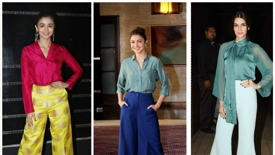 The 70's inspired flares are having a moment, thanks to the likes of actors Alia Bhatt, Anushka Sharma and Vaani Kapoor.