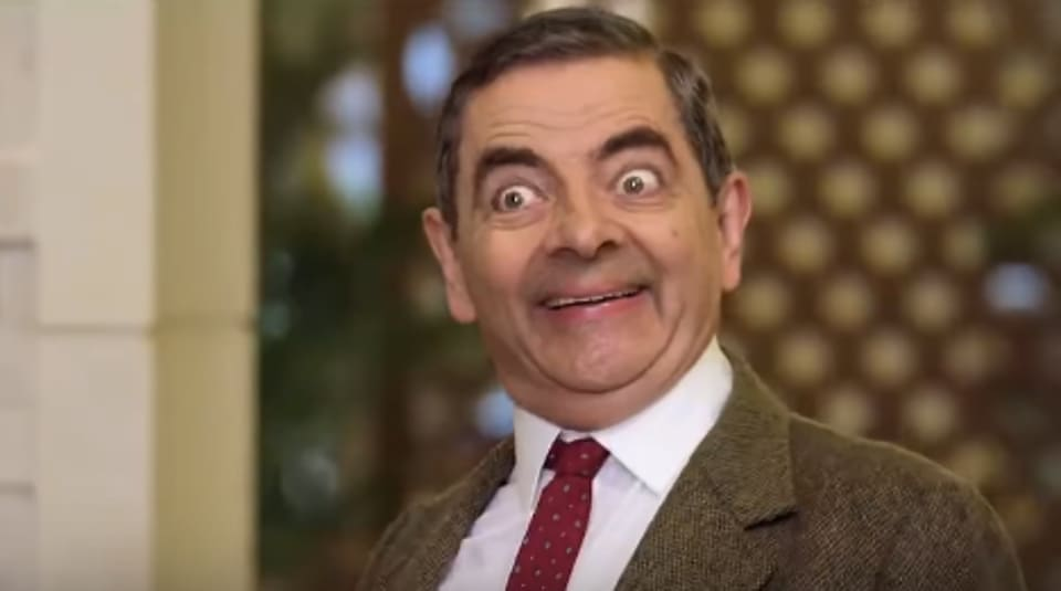 Rowan Atkinson played Mr Bean in 15 episodes of TV and 2 movies.