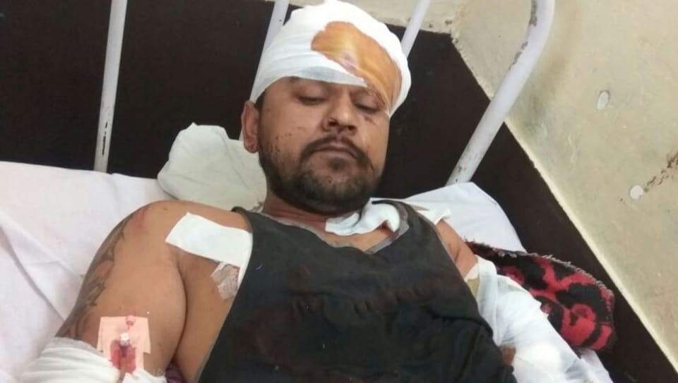 Prisoner undergoing treatment at civil hospital in Kapurthala.
