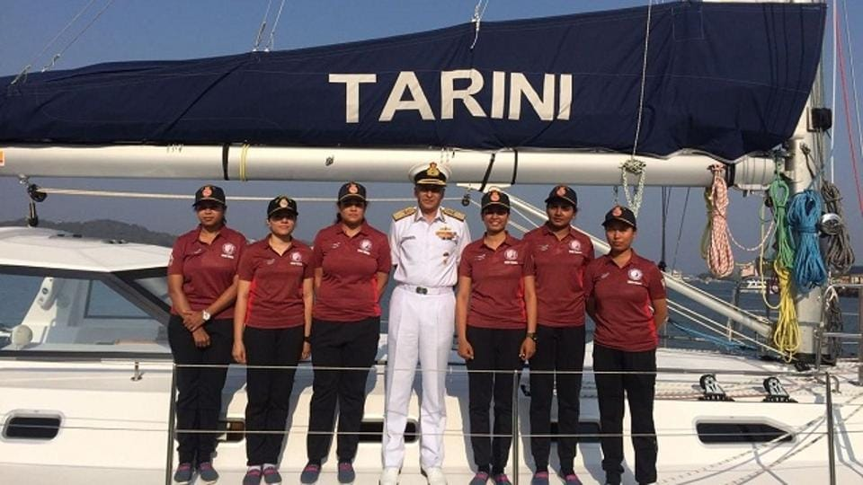 Indian Navy's all-women team is likely to set sail for journey around the world in June, Vice Admiral R. Hari Kumar said on Thursday.