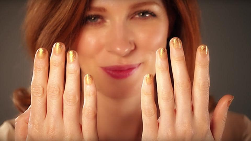 Now you have a nail polish that you can taste.