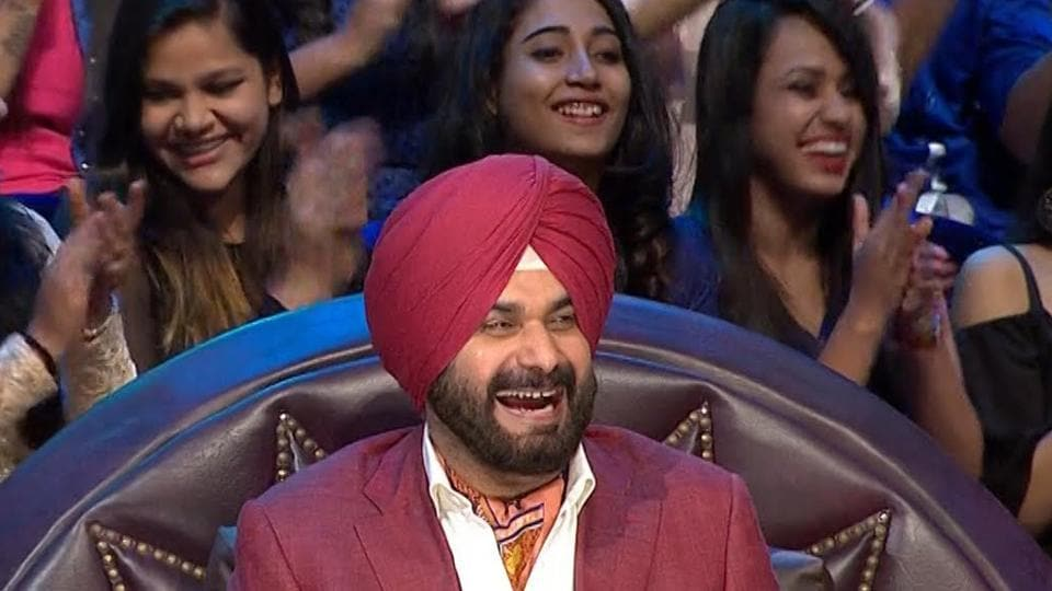 Sidhu is a permanent celebrity guest at the comedy series 'The Kapil Sharma Show'.
