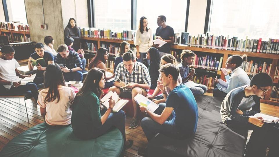 Students are able to connect better with their peers than their teachers.