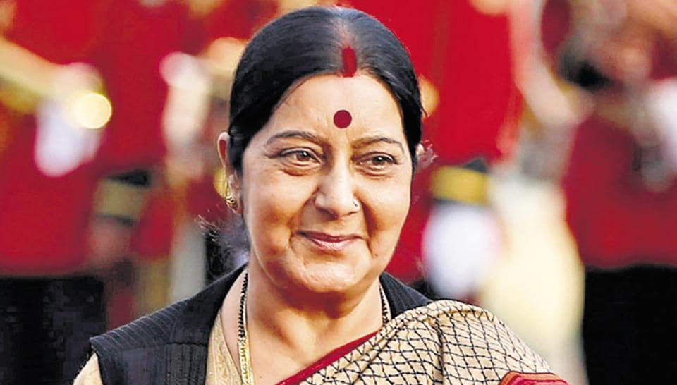 External affairs minister Sushma Swaraj has helped many Indians during times of need in other countries.