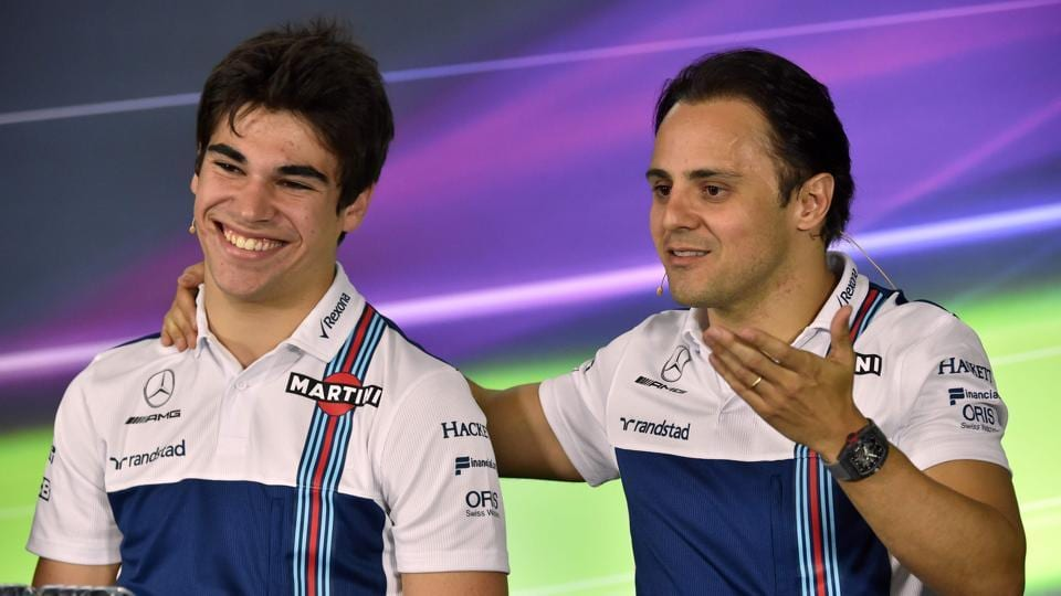 Williams F1 team seems to have the right mix in their paddock, the wisdom and experience of Felipe Massa (right) and the raw pace of young Canadian racer Lance Stroll . The big question is will their hardware match up. (AFP)