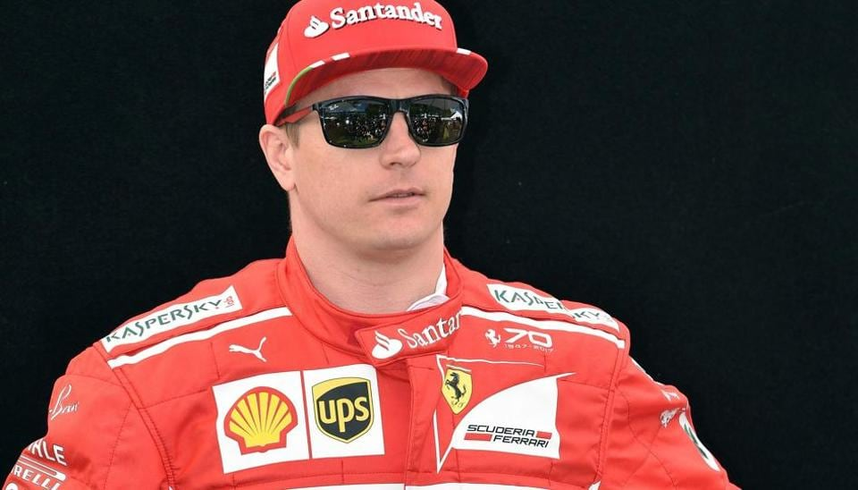 Ferrari F1 team's Finnish driver Kimi Raikkonen continues to be the cool dude of the F1 paddock, making a fashion statement with stylish pair of sunglasses during the photoshoot on Thursday, perhaps to fight off the glare from the camera flashes. (AFP)