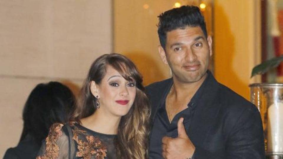 Yuvraj Singh and wife Hazel Keech may be wild card entrants in the eighth season of Nach Baliye.