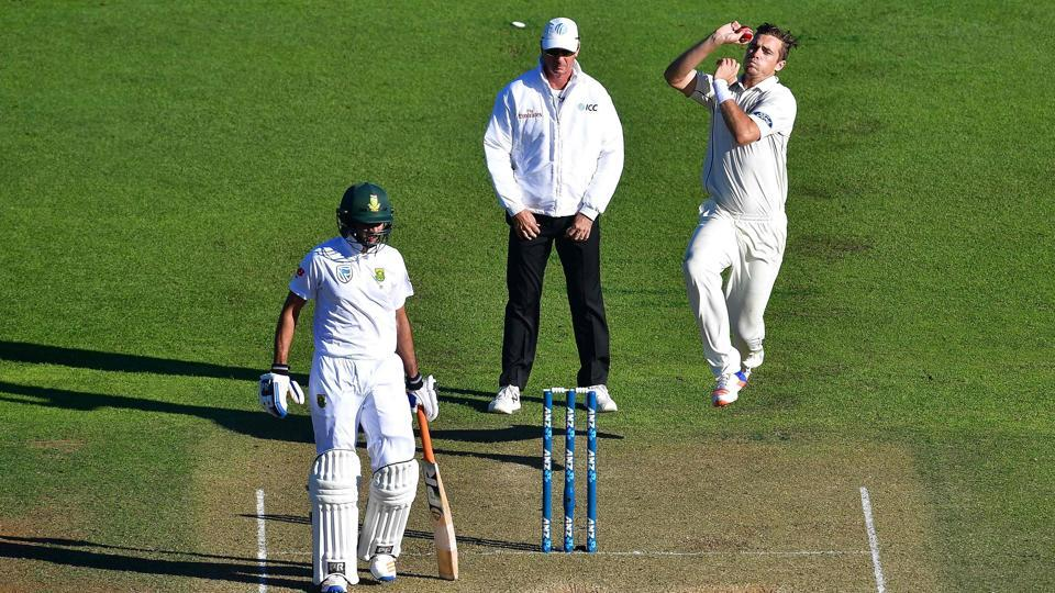 Tim Southee,Quinton de Kock,New Zealand cricket team