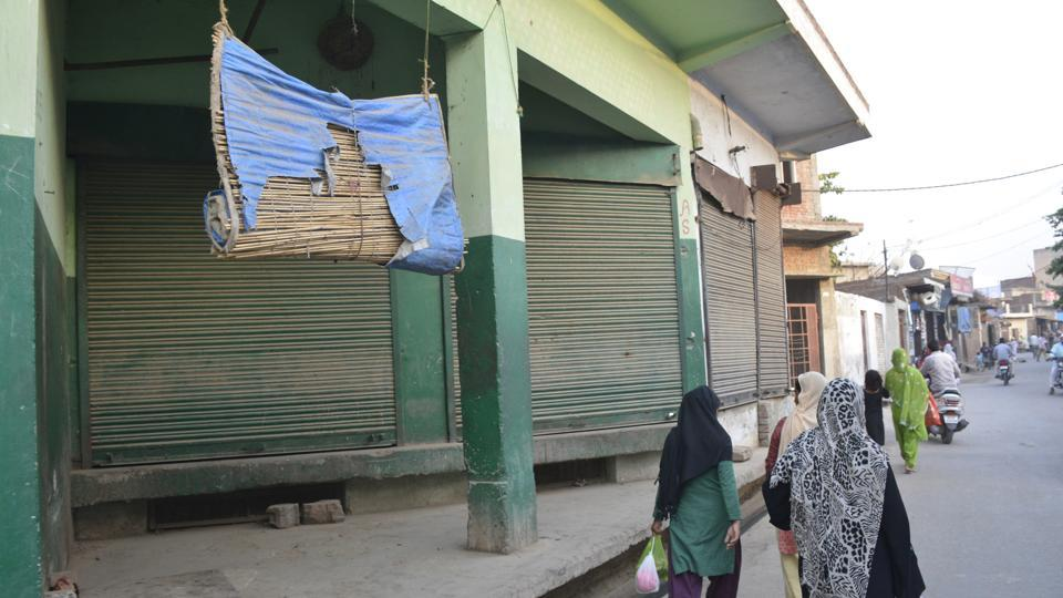 meat shop closed,Yogi Adityanath,Ghaziabad