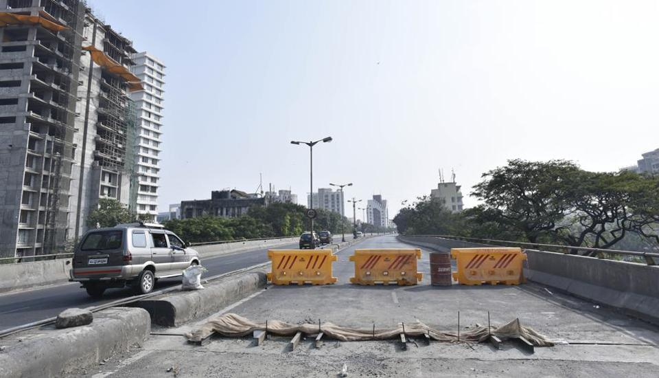 Last November , BMC conducted repairs on Lalbaug flyover.