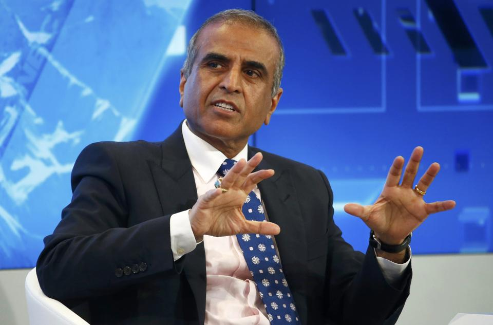 Sunil Bharti Mittal, Chairman of Bharti Enterprises attends the World Economic Forum (WEF) annual meeting in Davos, Switzerland.