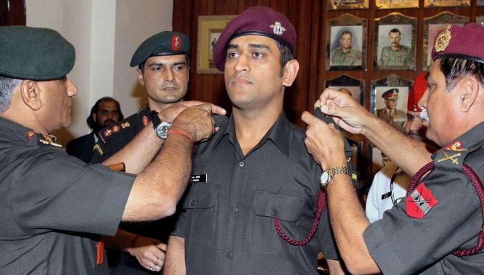 Mahendra Singh Dhoni,Martyrs' Day,Shaheed Diwas