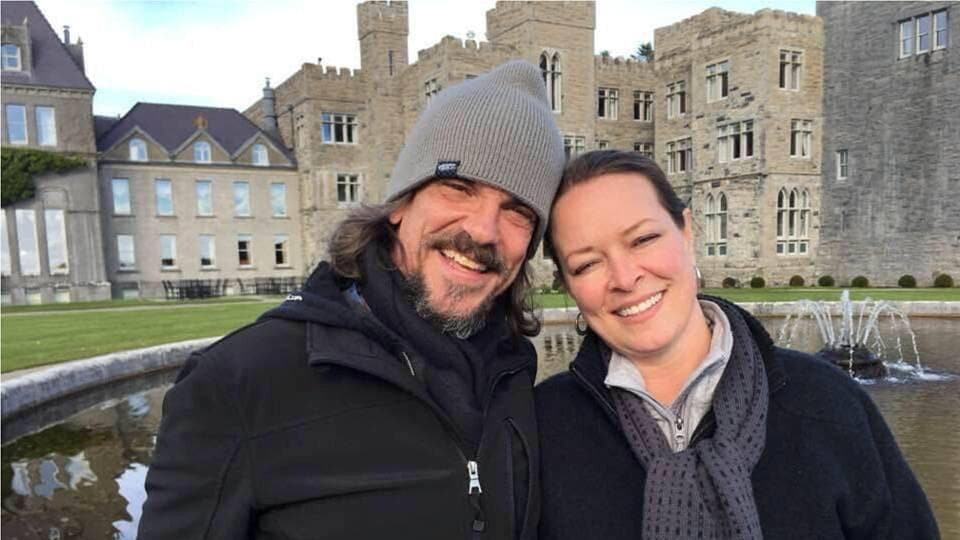 Kurt Cochran (L) and his wife Melissa, who were in Europe to celebrate their 25th wedding anniversary and had been due to return to the United States on Thursday, are shown in this photo released by the family in Salt Lake City, Utah, U.S. on March 23, 2017.