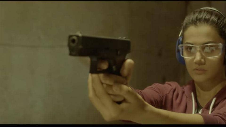 Taapsee Pannu plays a spy in Naam Shabana.