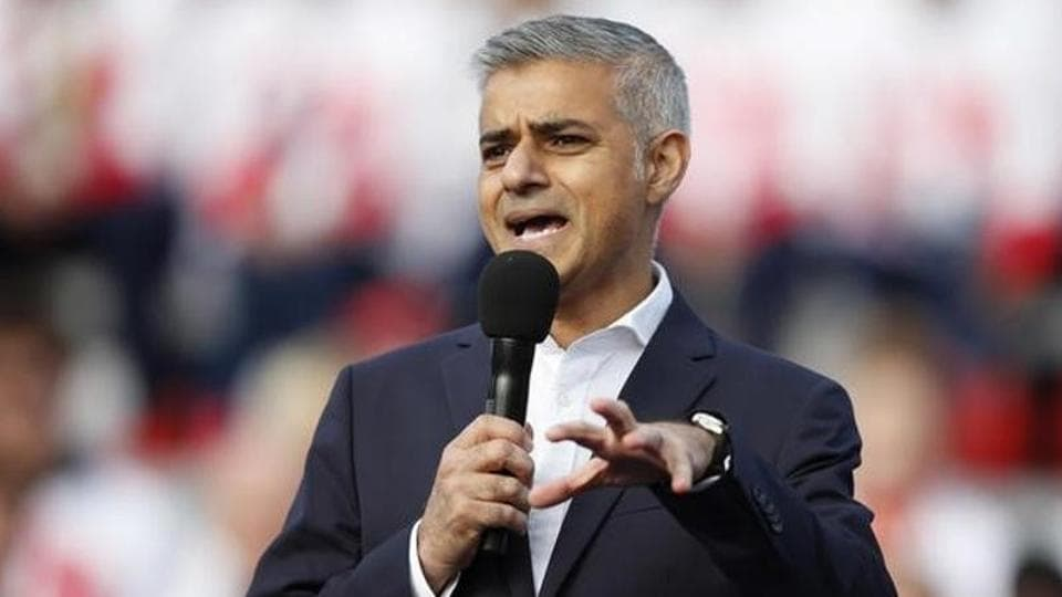 Donald Trump Jr,Sadiq Khan,London mayor