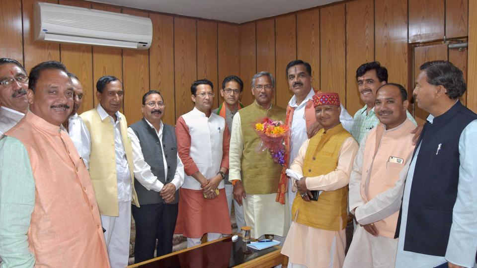 Uttarakhand cabinet portfolios,Trivendra Singh Rawat,Satpal Maharaj