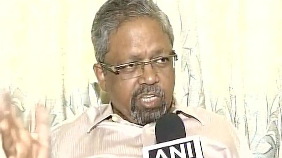 R Sukumar, who was assaulted by a Shiv Sena parliamentarian, speaks to news agency ANI.