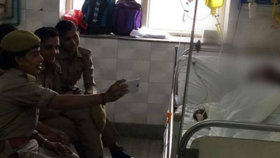 Two constables have been suspended and a probe has been ordered against the third, who is a Railways Police employee.