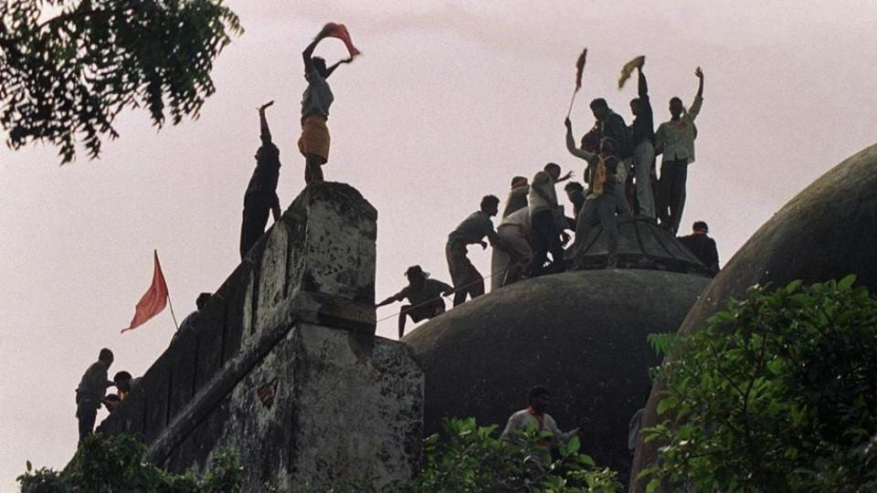 A Hindu mob demolished the historic Babri Masjid on December 2, 1992 at Ayodhya