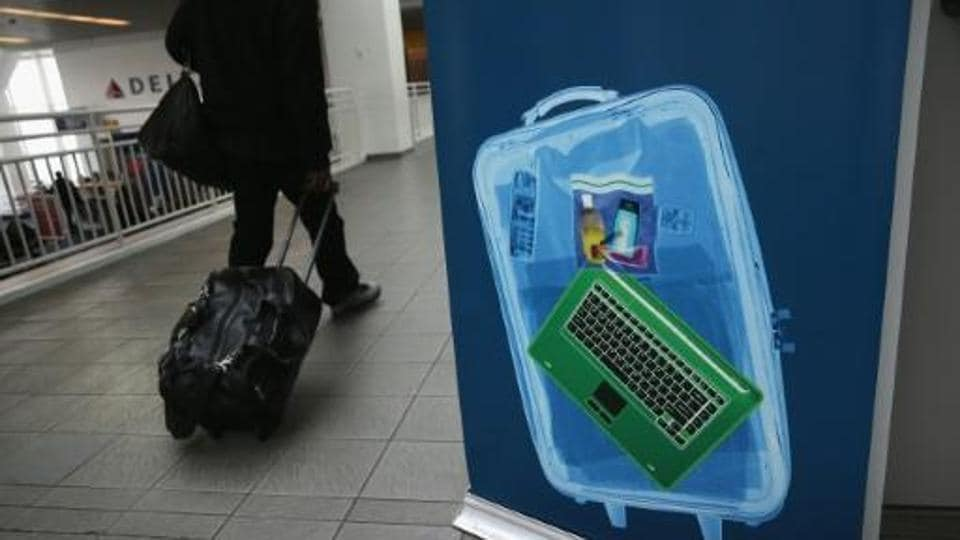 While Middle Eastern airlines grapple with carry-on bans for laptops on flights to the US and Britain, one carrier is encouraging passengers to do the unthinkable: actually talk to each other.