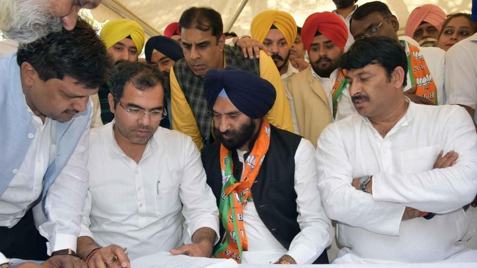 The BJP-Akali Dal combine has named former Shiromani Akali Dal legislator MS Sirsa as its joint candidate from the west Delhi seat.