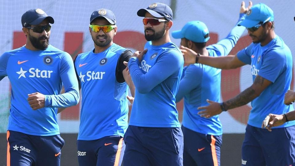 India cricket team's focus during training on Friday was around skipper Virat Kohli and his injured shoulder. There are some serious doubts about whether Kohli would be able to play in the series decider vs Australia cricket team starting on Saturday.