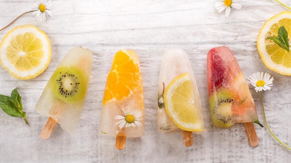 how to make homemade fruit ice pops