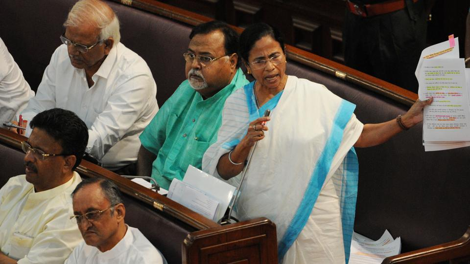 Bengal chief minister Mamata Banerjee has said she would be happy to see BJP patriarch LK Advani as the next President of India but would not mind if Union minister Sushma Swaraj or Lok Sabha speaker Sumitra Mahajan became the country's first citizen.