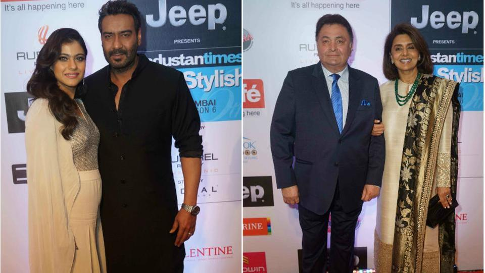 The two power couples we could not take our eyes off from. Kajol-Ajay Devgn and Rishi Kapoor-Neetu Singh looked as wonderful together as always.