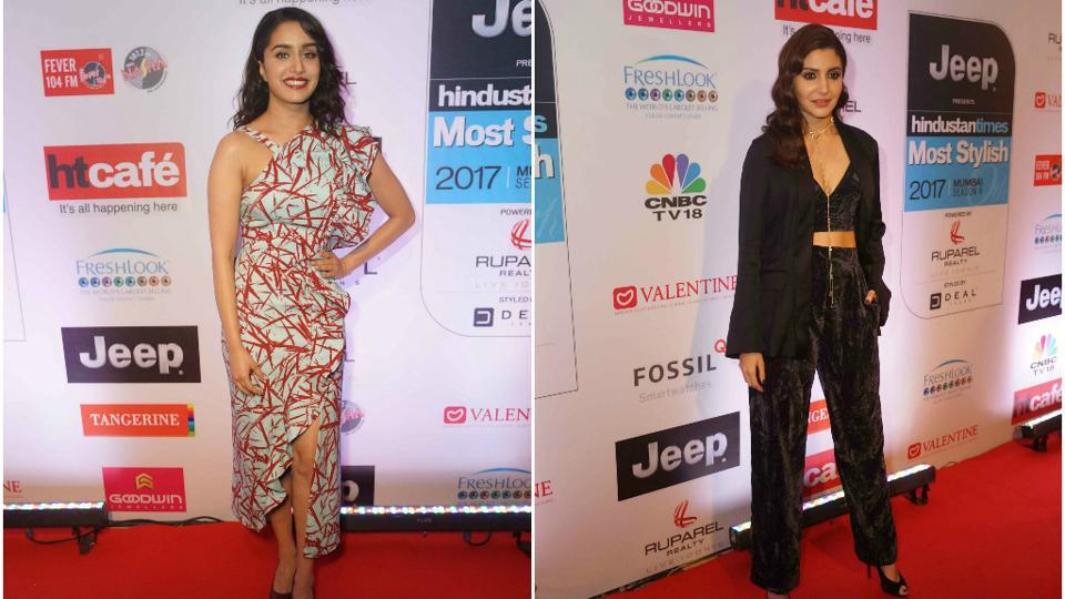 Shraddha Kapoor and Anushka Sharma looked chic in their trendy outfits.