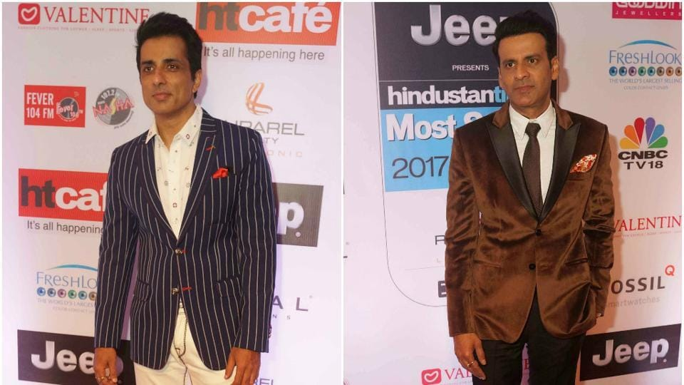 Actors Sonu Sood and Manoj Bajpayee kept in simple and understated.
