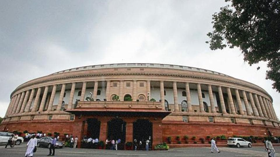 The Opposition's protest against the government's plan to create a constitutional body for backwards led to disruptions and adjournment in Rajya Sabha on Friday.