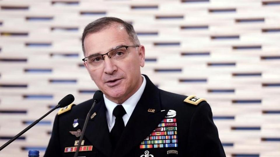 General Curtis Scaparrotti, NATO's Supreme Allied Commander in Europe alleged that Moscow was supplying the extremist group in Afghanistan.