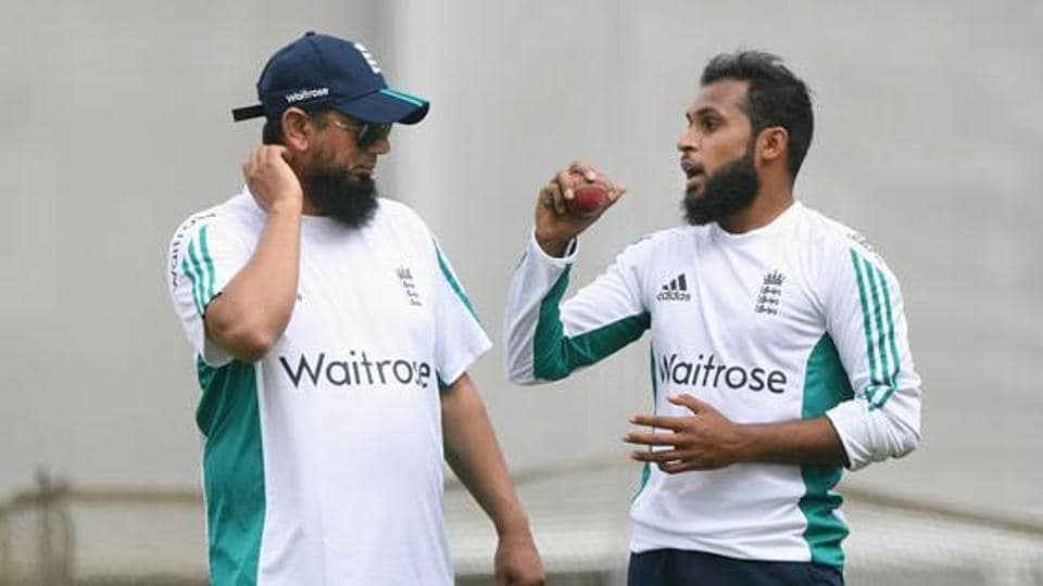Saqlain Mushtaq has worked with England spinners like Adil Rashid (right) and Moeen Ali before and he hopes they will improve under his supervision.