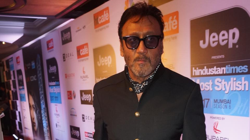 Jackie Shroff at the HT Most Stylish awards function in Mumbai on Friday.