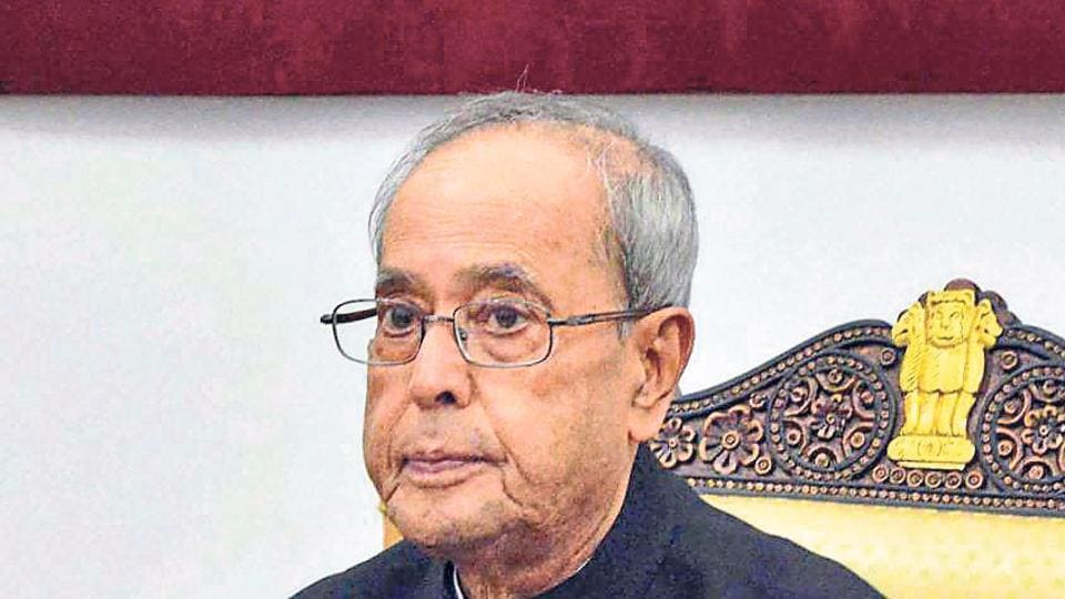 """President Pranab Mukherjee said there needs to be an """"out-of-box"""" solution to curb the dangers of environmental degradation."""
