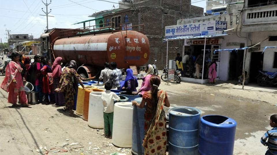 Water tables are falling in most parts of India; 60% of India's districts face groundwater over-exploitation and/or serious quality issues