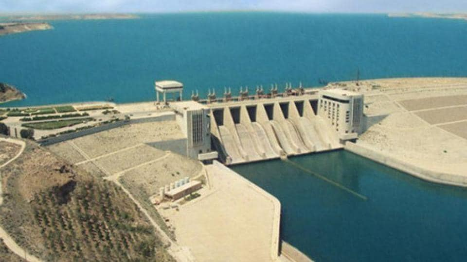 The Tabqa Dam on the Euphrates River is the largest dam in Syria.