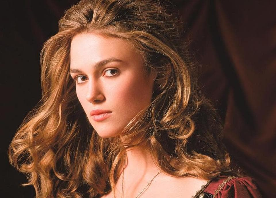 Keira Knightley played Elizabeth Swann in the Pirates of the Caribbean films.