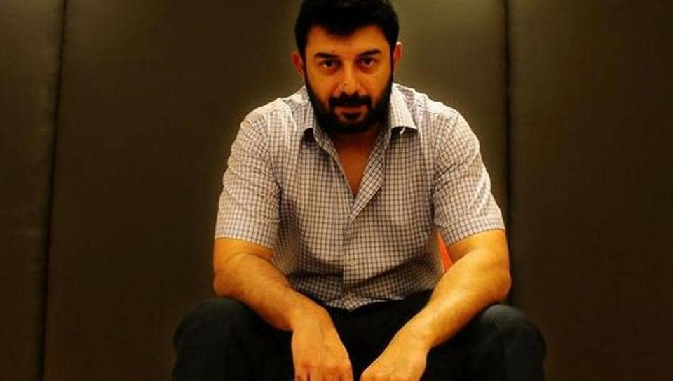 Arvind Swami is working for the first time with Trisha in Sathuranga Vettai 2.